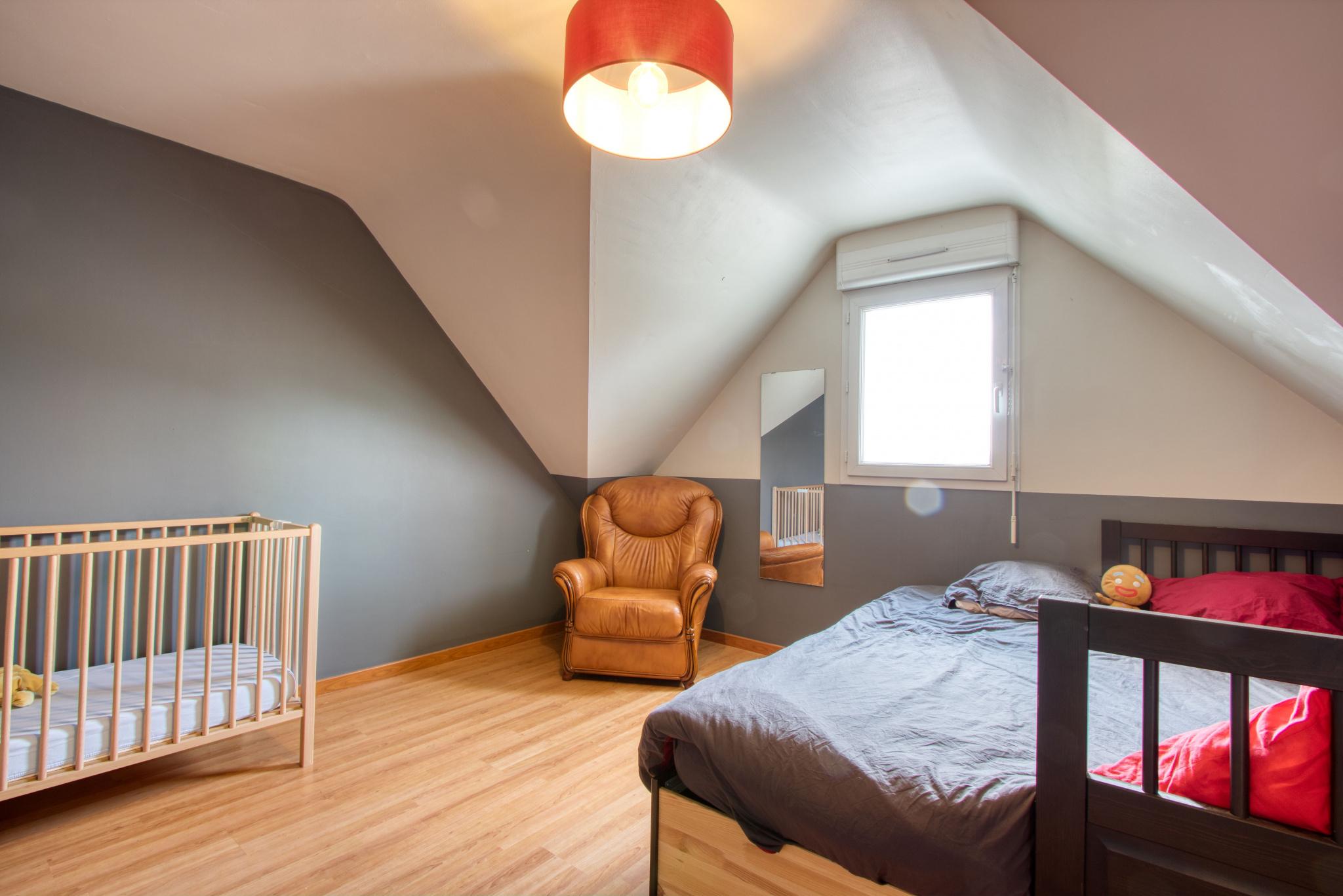Chambre 4 1er niveau13,15 m2
